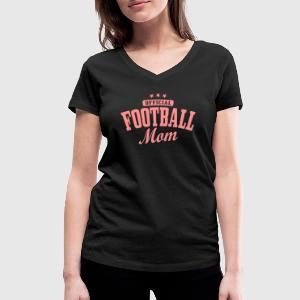 football mom Tee shirts - T-shirt col V Femme