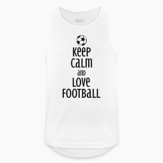 keep calm and love football Sports wear