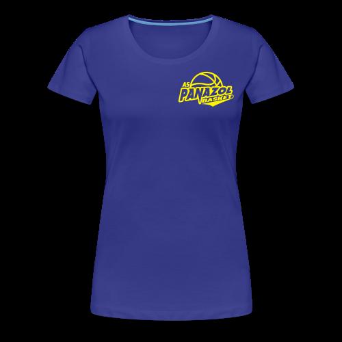 Tee-shirt Premium FEMME - BLEU - ASP - T-shirt Premium Femme
