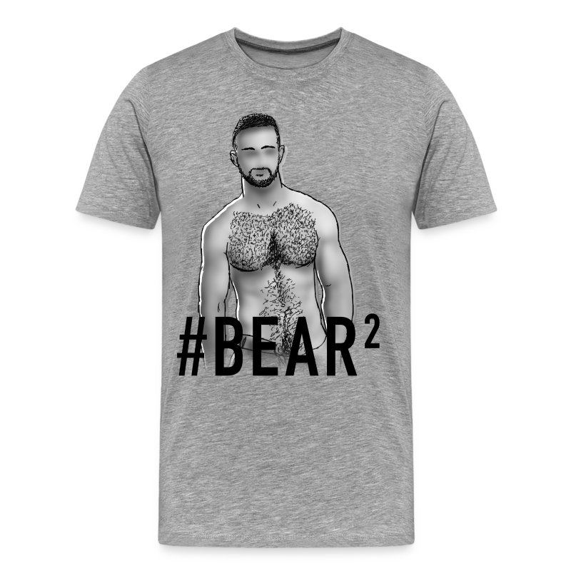 GAY TRIBE GEAR TEE / BEAR2 - Men's Premium T-Shirt