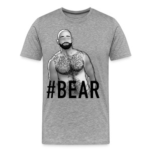 GAY TRIBE GEAR TEE / BEAR - Men's Premium T-Shirt