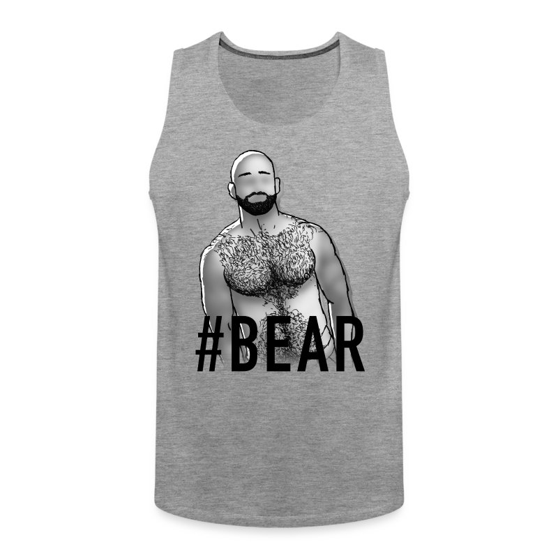 GAY TRIBE GEAR TANK / BEAR - Men's Premium Tank Top