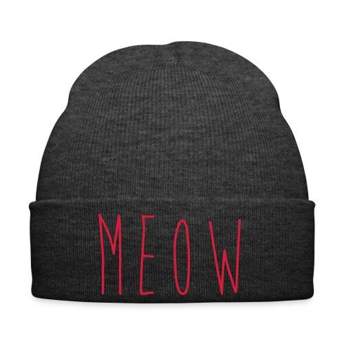 MEOW Mütze - Wintermütze