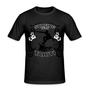 Tahiti Surfing Team - Men's Slim Fit T-Shirt