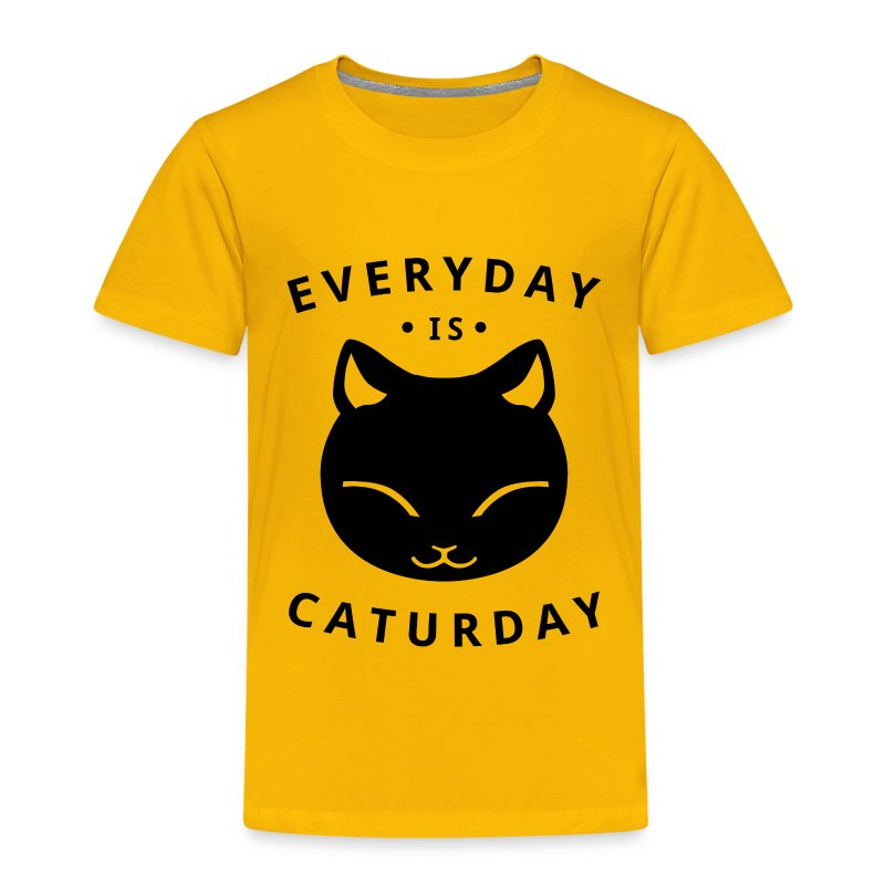 Everyday is caturday - T-shirt Premium Enfant