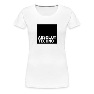 absolut Techno Club Minimal Chicago DJ Vinyl Bass T-Shirts - Frauen Premium T-Shirt