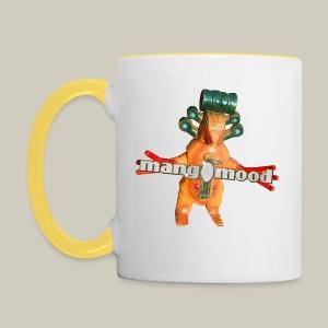 Tasse mit mangomood Monster - Tasse zweifarbig