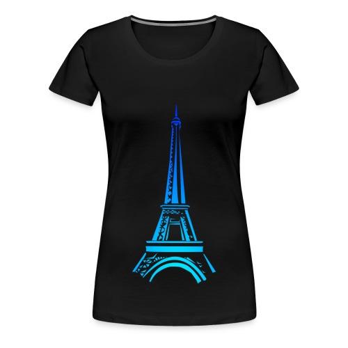 Girl - Paris - Frauen Premium T-Shirt