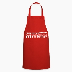 LOVE IS LIFE  Aprons