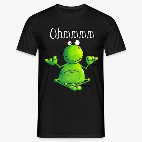 Camiseta con Rana meditando - Camiseta hombre
