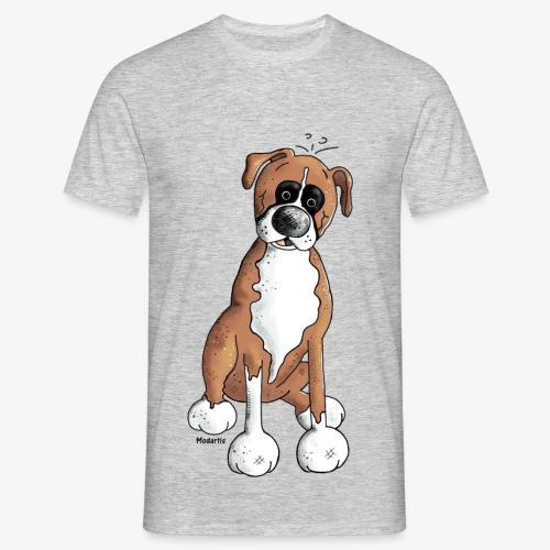 Camiseta con perro Boxer - Camiseta hombre