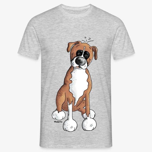 Tienda De Camisetas Striking Shirts Camiseta Con Perro Boxer