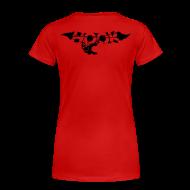 T-Shirts ~ Frauen Premium T-Shirt ~ iceberg raccourci black
