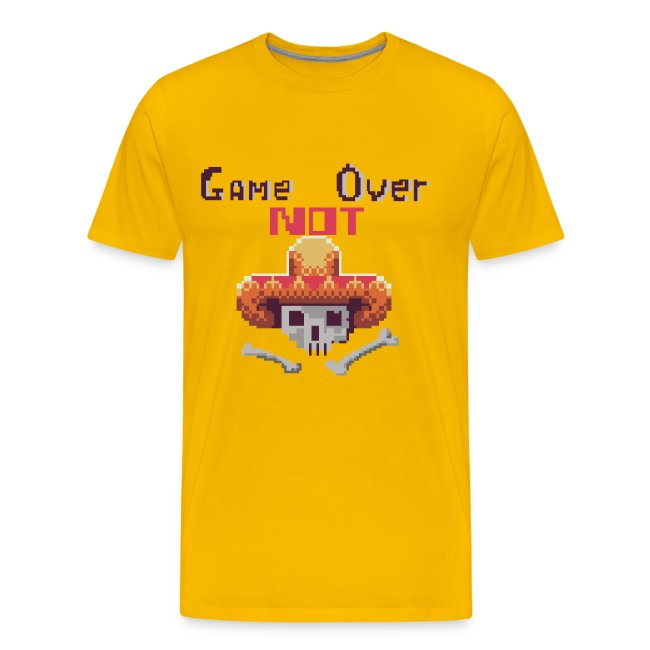Game Not Over Men's T-shirt