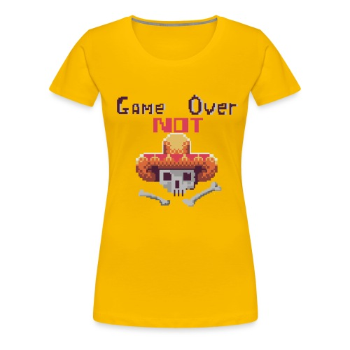 Game Not Over Women's T-shirt - Women's Premium T-Shirt