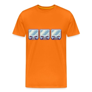 Ice Blocks Men's T-shirt - Men's Premium T-Shirt