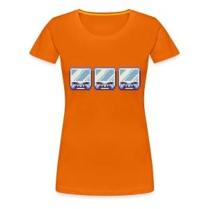 Ice Blocks Women's T-shirt - Women's Premium T-Shirt