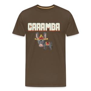 Caramba Men's T-shirt - Men's Premium T-Shirt
