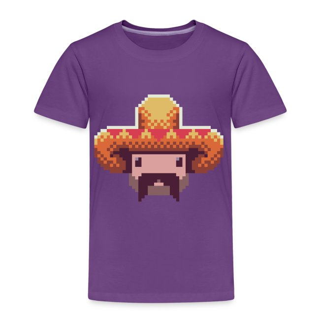Mexican Guy Kid's T-shirt