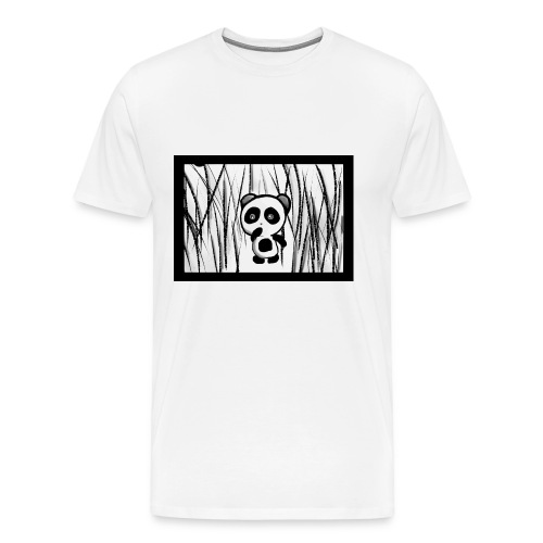 Panda Forest - T-shirt Premium Homme
