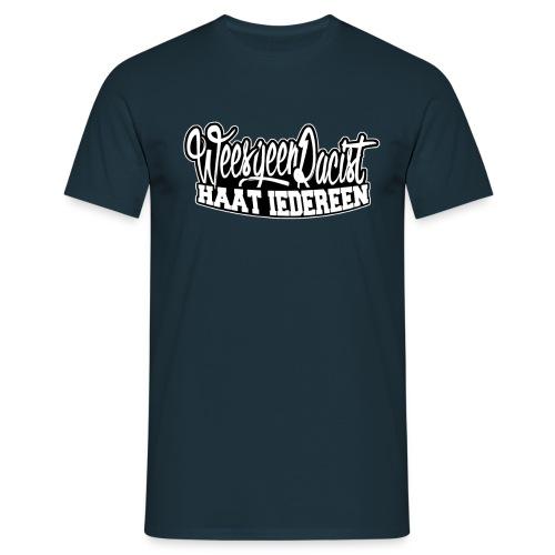 'Wees geen racist, haat iedereen' Jongens shirt - Mannen T-shirt