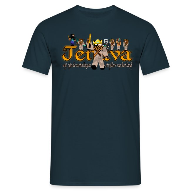 The Kingdom Jenava: Seizoen 1 Oldschool Shirt Jongens
