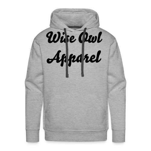 Wise Owl Apparel Hoody - Men's Premium Hoodie