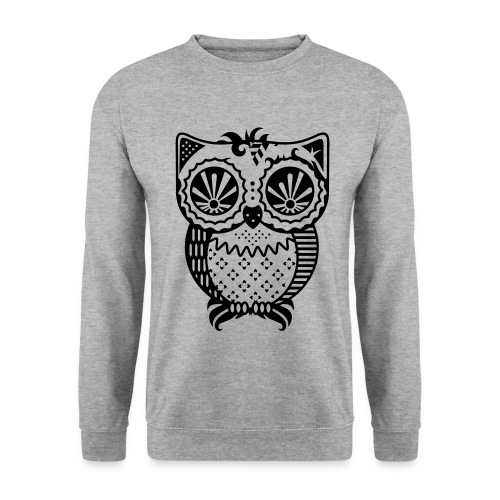 Patchwork Owl - Men's Sweatshirt