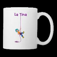 Tazas y accesorios ~ Taza ~ LA TINA RAPELANT (cat)
