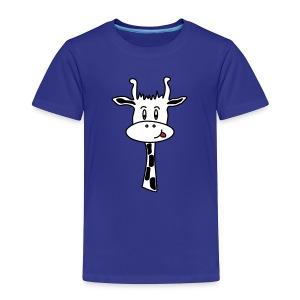 T-shirt Giraf Jongen - Kinderen Premium T-shirt