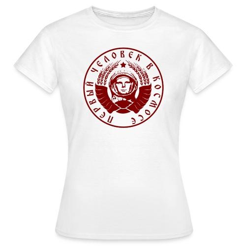 Gagarin  - Frauen T-Shirt