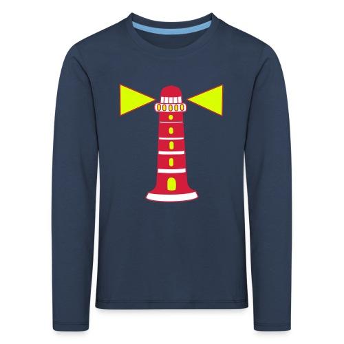 Shirt lange mouwen Vuurtoren - Kinderen Premium shirt met lange mouwen