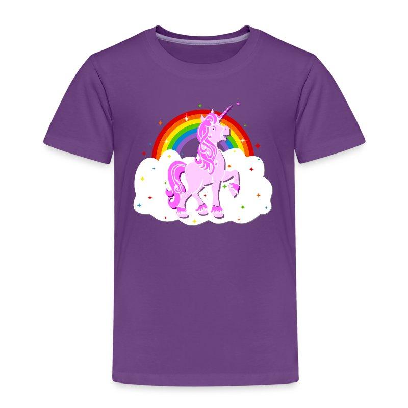 einhorn regenbogen sterne wolke unicorn t shirt spreadshirt. Black Bedroom Furniture Sets. Home Design Ideas