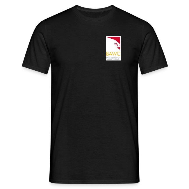 BAWC Disparate & Desperate Quote Men's Black T-Shirt