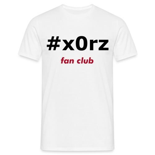 #x0rz FAN - T-shirt Homme