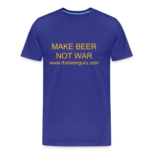 Make Beer Not War - Men's Premium T-Shirt