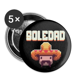 Soledad Button 5 Pack - Buttons medium 32 mm