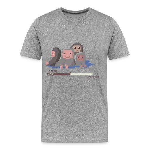 Refugees Men's T-shirt - Men's Premium T-Shirt