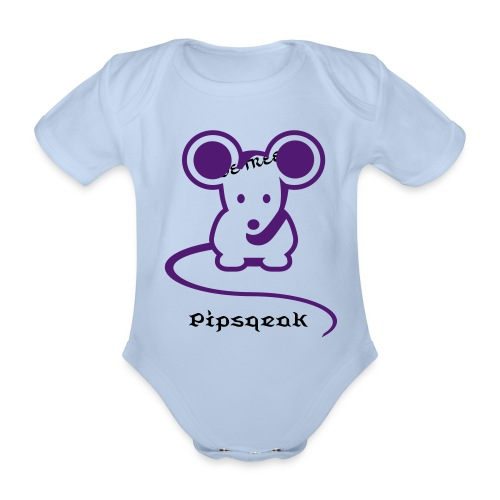 Pipsqueak BabyGrow - Organic Short-sleeved Baby Bodysuit