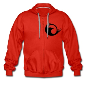 Mens - Zipper Hoodie - Men's Premium Hooded Jacket