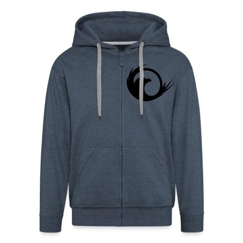 Mens - Zipper Hoodie - Men's Premium Hooded Jacket