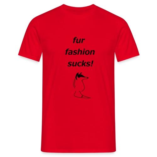 Black Fox Herren Shirt - Männer T-Shirt