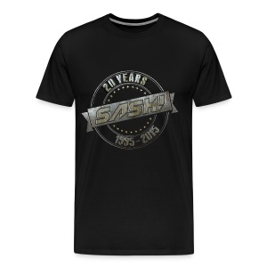 SASH! 20 Years Shirt - Men's Premium T-Shirt