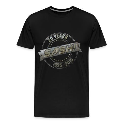 SASH! 20 Years Shirt - Men's Premium T-Shirt