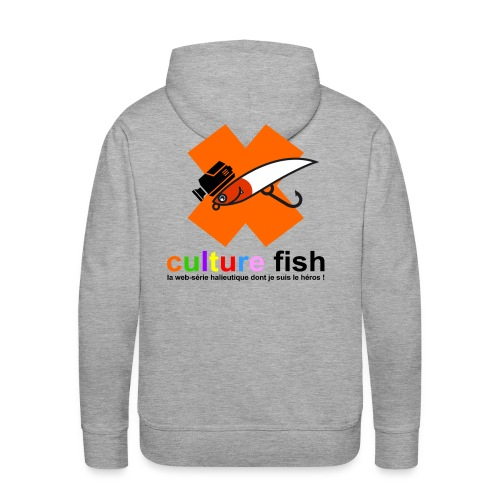 Culture Fish 2015 - Sweat-shirt à capuche Premium pour hommes