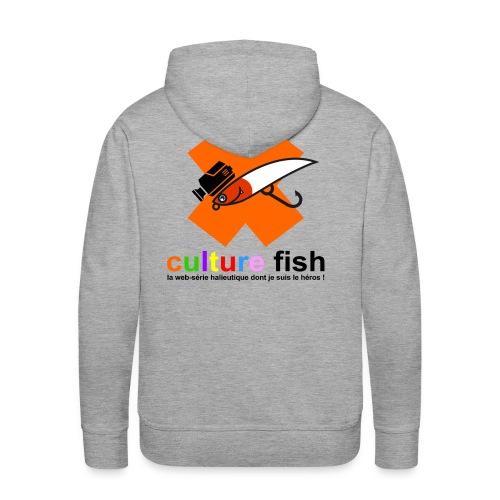 Culture Fish 2015 - Sweat-shirt à capuche Premium pour hommes
