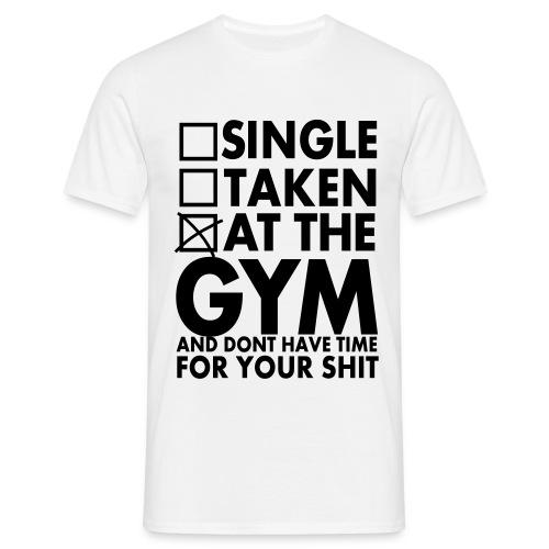 Mens GYM T-Shirt - Men's T-Shirt