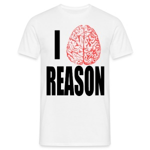 I Heart REASON - Men's T-Shirt