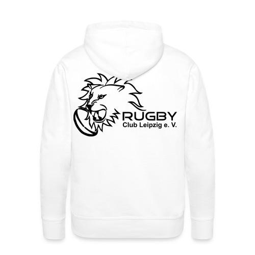 Kapuzenpullover weiß Männer Rugby Club Leipzig - Männer Premium Hoodie