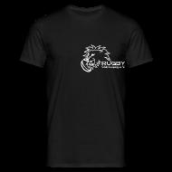 T-Shirts ~ Männer T-Shirt ~ T-Shirt schwarz Logo Rugby Club Leipzig